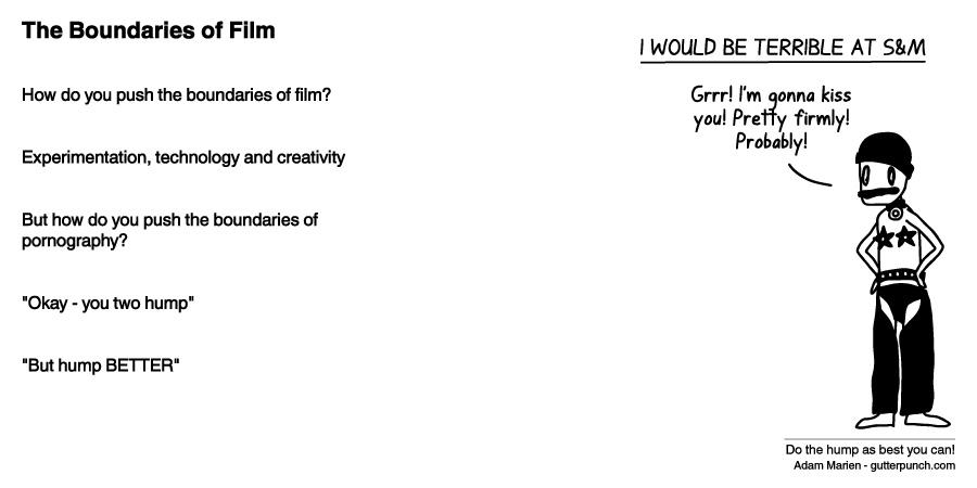 The Boundaries of Film
