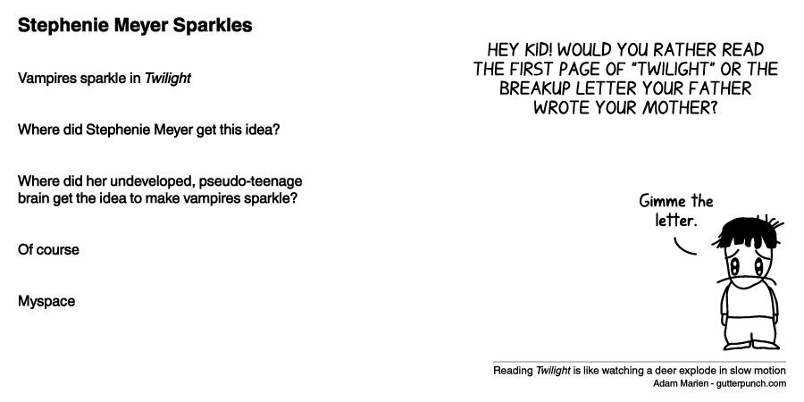 Stephenie Meyer Sparkles