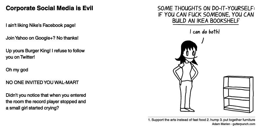 Corporate Social Media is Evil