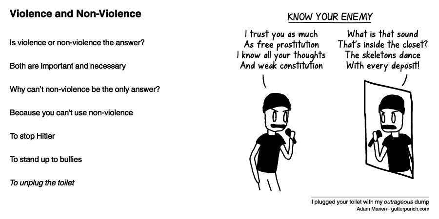 Violence and Non-Violence