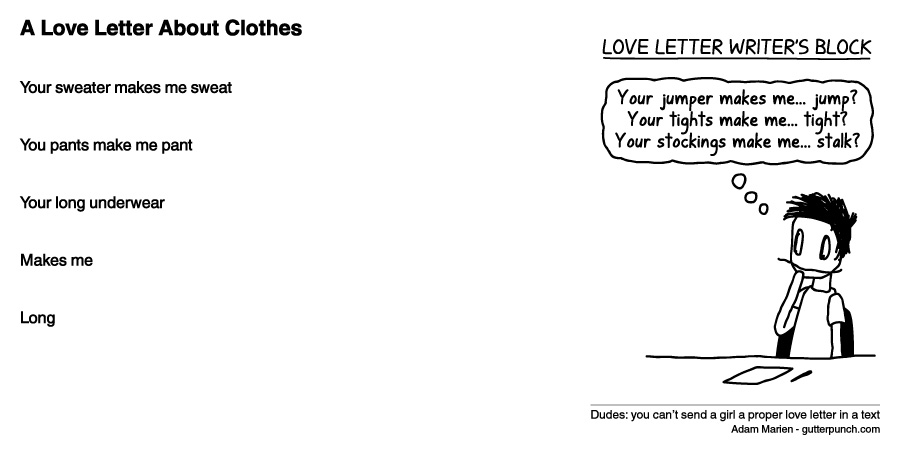A Love Letter About Clothes