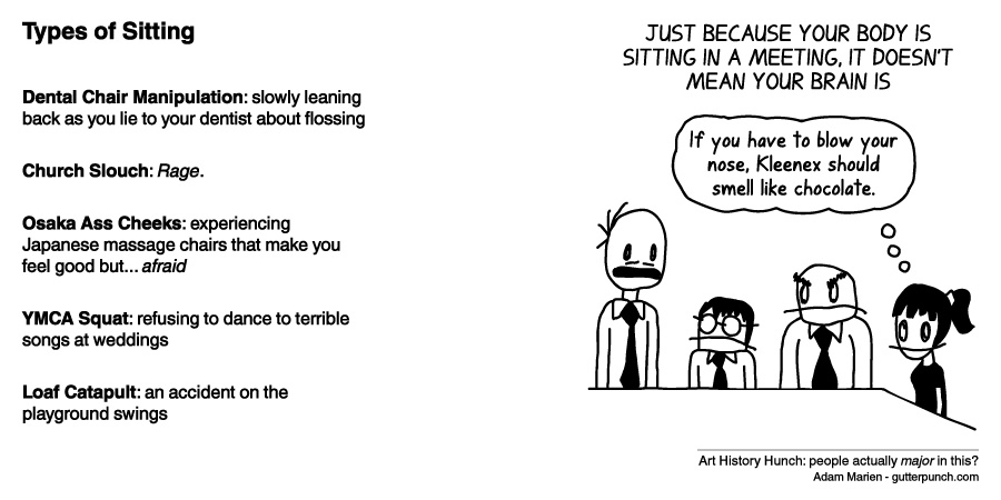 Types of Sitting