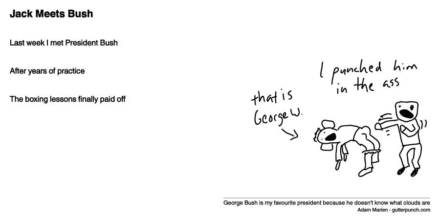 Jack Meets Bush