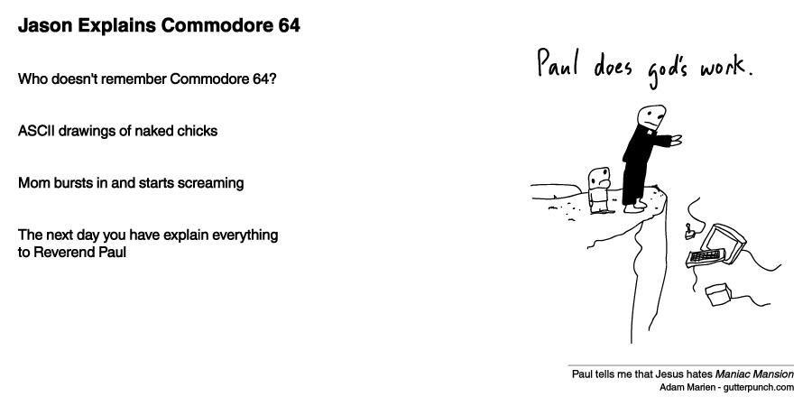 Jason Explains Commodore 64