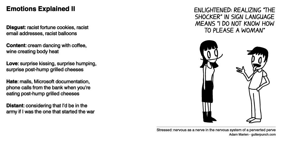 Emotions Explained II