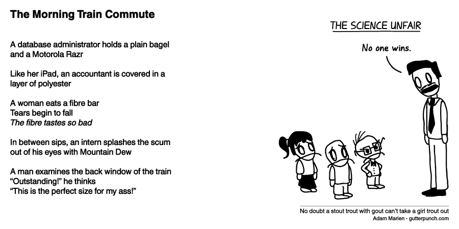 The Morning Train Commute
