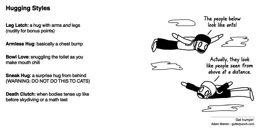 Hugging Styles