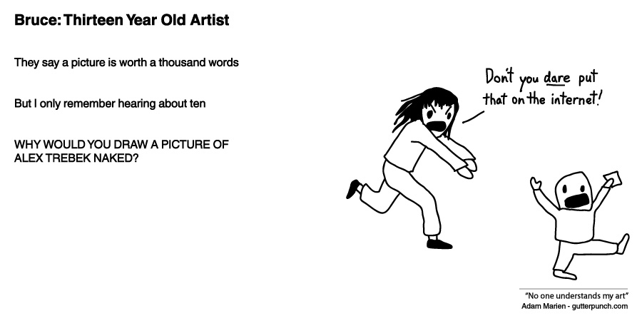 Bruce: Thirteen Year Old Artist