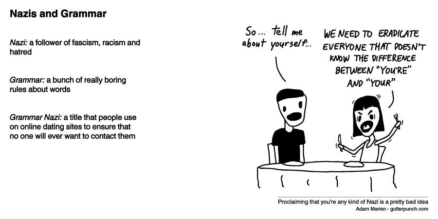 Nazis and Grammar