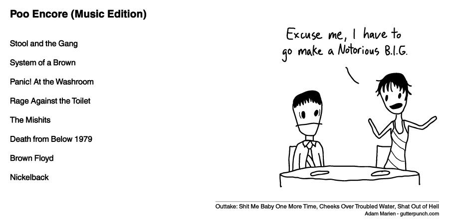 Poo Encore (Music Edition)