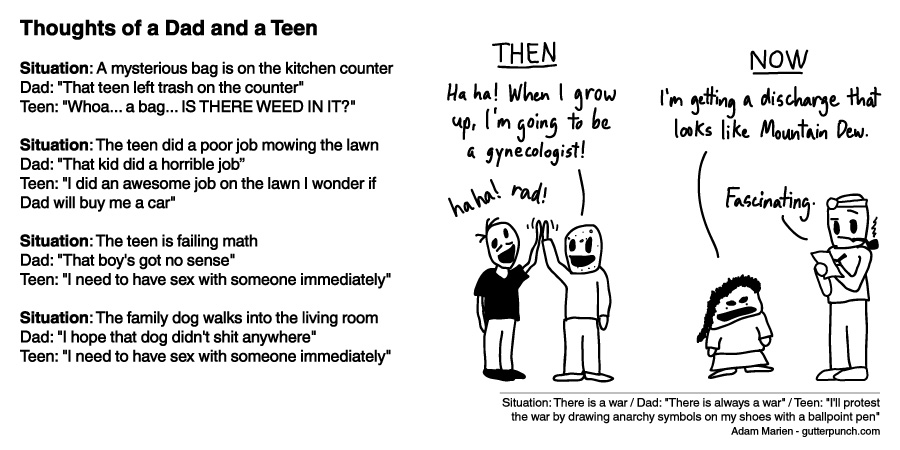 Thoughts of a Dad and a Teen